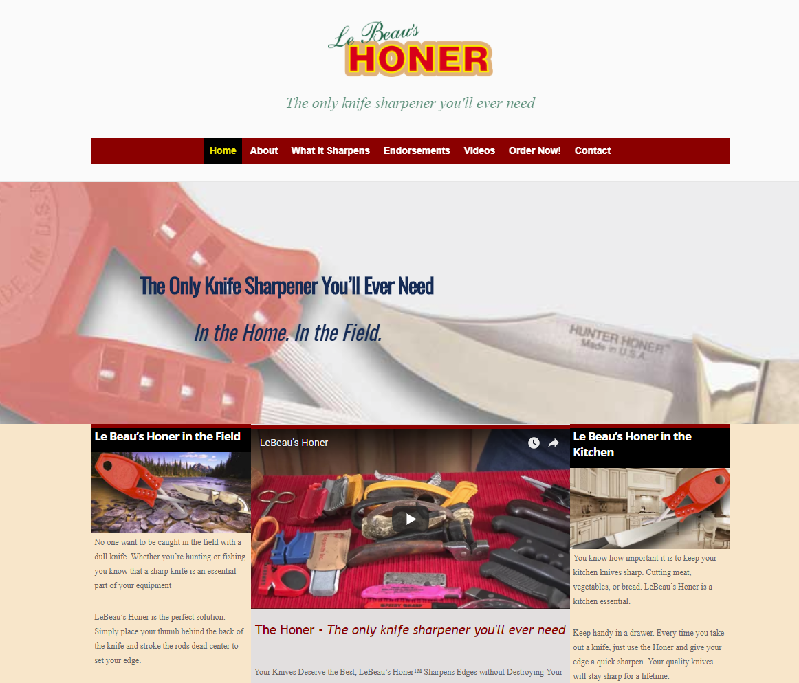 Web-site-Honer