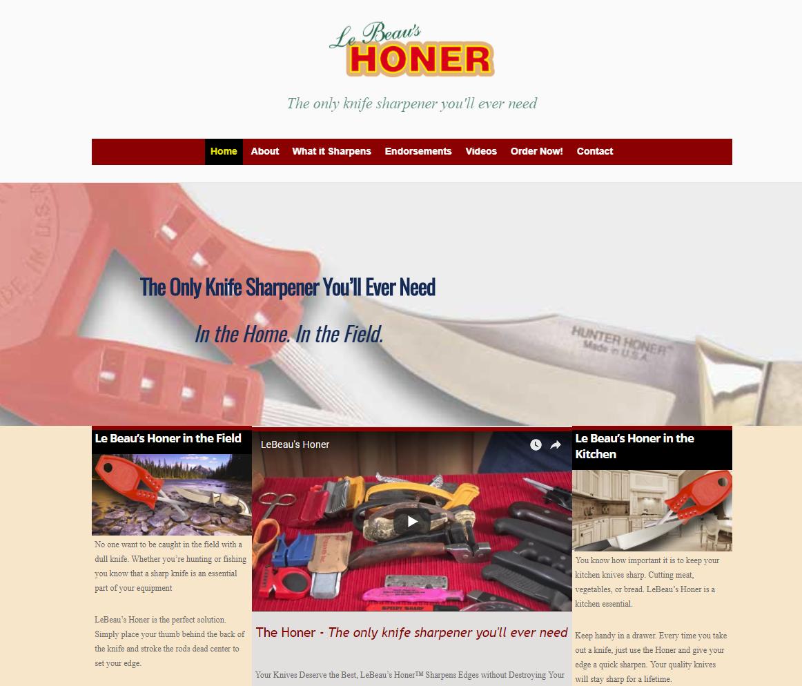 Web-site-Honer